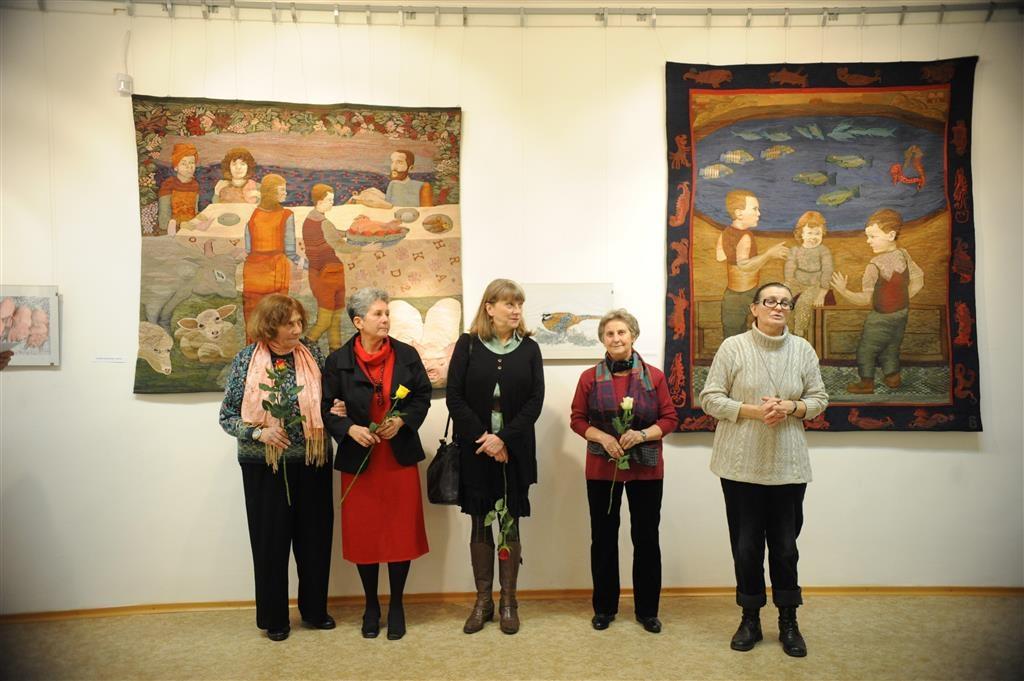 Textilművészek a Csepel Galériában