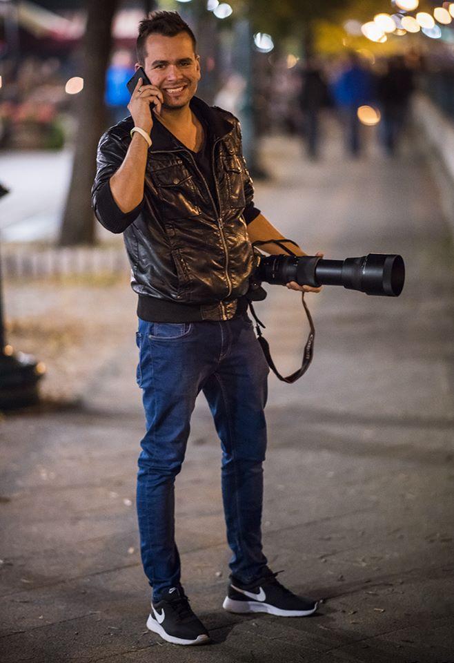 Egy különleges fotográfus Csepelről: Rizsavi Tamás