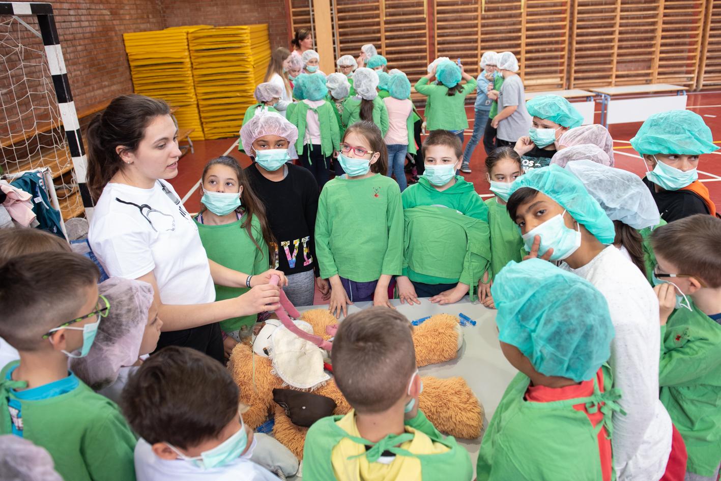 Projekt nap a Karácsony Sándor Általános Iskolában