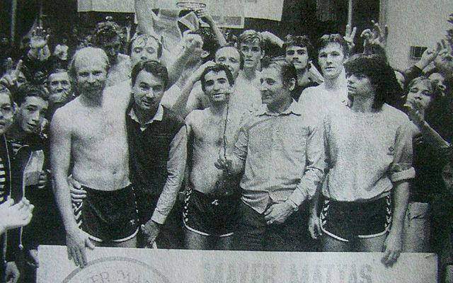 Harminc éve voltak bajnokok a csepeli férfi kosarasok