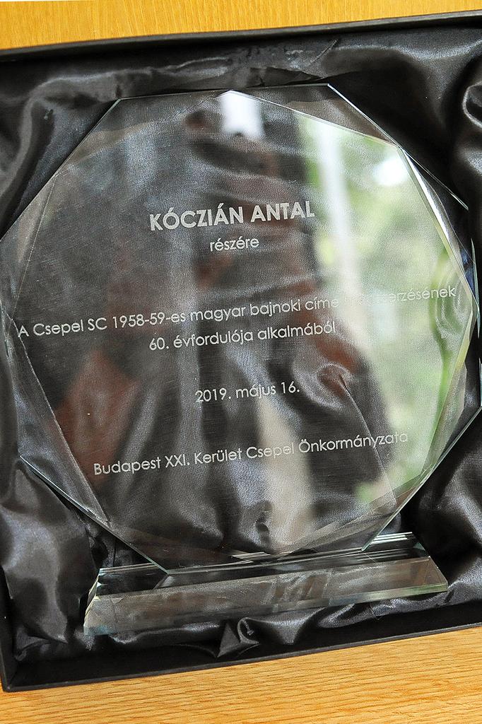 Hatvan éve lett bajnok a Csepel labdarúgó csapata