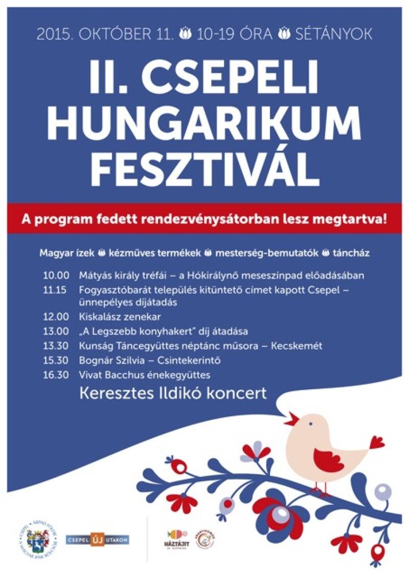 II. Csepeli Hungarikum Fesztivál