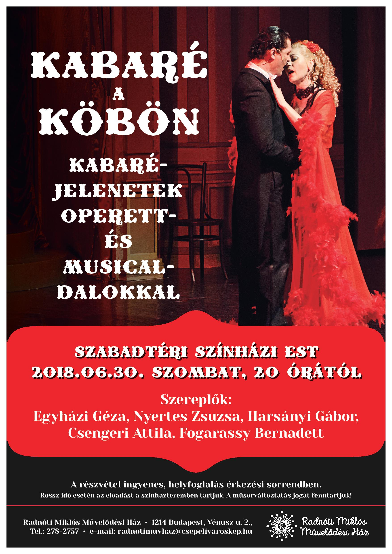 Szabadtéri színházi est